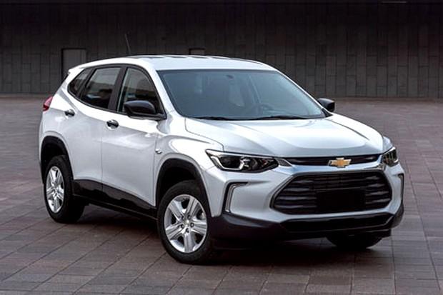 Vazam fotos do novo Chevrolet Tracker na Internet